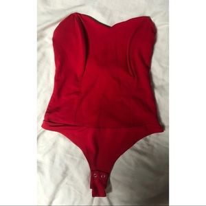 🍒 Dynamite Strapless Bodysuit 🍒